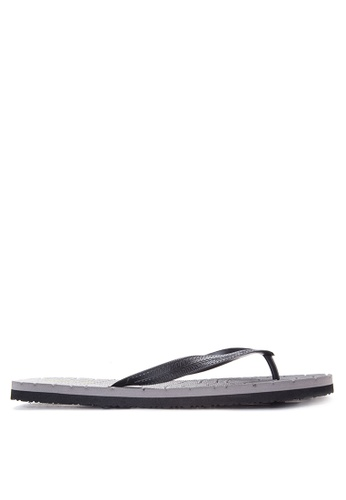 BENCH grey Basic Rubber Slippers BE550SH45LVYPH_1