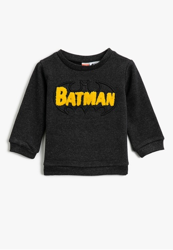 KOTON grey Casual Sweatshirt 03A26KAE34BBF4GS_1