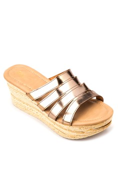 Juan by Janylin Wedge Slides