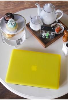MacBook case bundle for Pro 13 – Banana Yellow