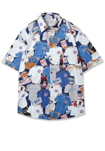 Twenty Eight Shoes Loose Printed Short Shirt MD205005 0C4BBAA04DB9E6GS_1