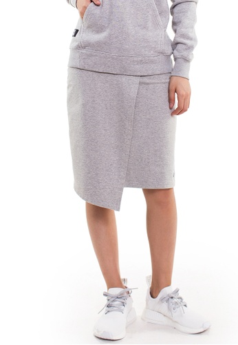 Reoparudo grey RPD Styling Cropped Skirts (Grey) 787F0AA5FD299AGS_1