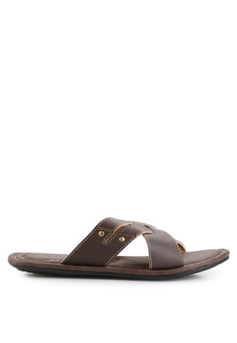 MARC & STUART Shoes brown Sandal Hector 2 MA456SH0UOQXID_1