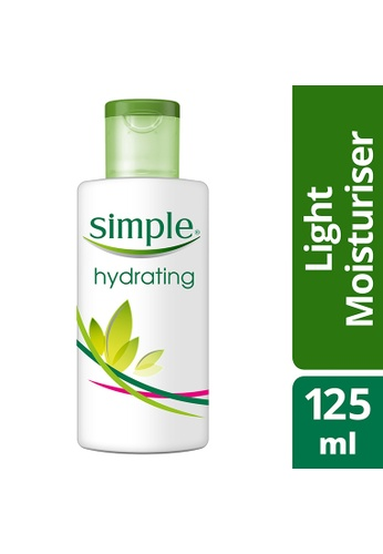 Simple n/a Simple Hydrating Light Moisturizer 125Ml 3E355BE9BE35D7GS_1