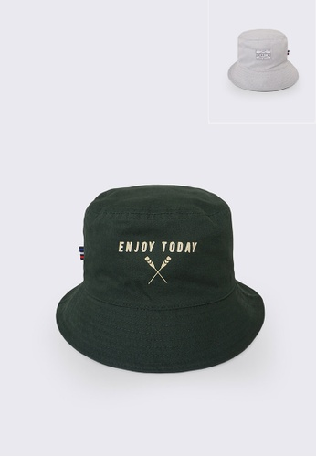REGATTA green Reversible Statement Bucket Hat 398E7ACACD0DF9GS_1