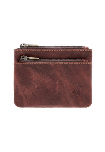 Jack Studio Jack Studio Small Leather Coin Purse Pouch Card Wallet 2EA2DACE5501F6GS_1