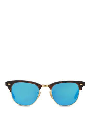 Clubmaster Flash Lenses 太陽眼鏡, 飾品配件zalora退貨, 飾品配件