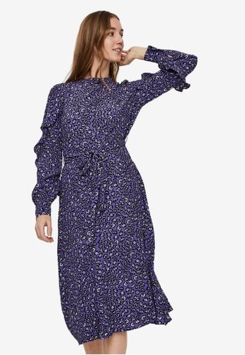 Vero Moda blue Yrsa Calf Belt Dress 37660AA18070F7GS_1