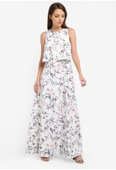 R m long dresses pastel