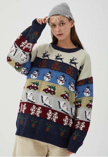 Twenty Eight Shoes Retro Winter Christmas Cartoon Knit Sweater HH0540 D92C3AA8C13788GS_1