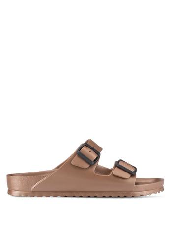 BIRKENSTOCK brown Arizona EVA Sandals BI090SH11JOUMY_1
