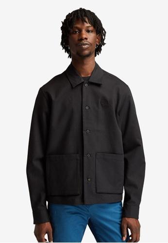 Timberland black Re-Comfort EK+ Long-Sleeves Overshirt 31FF3AA85F4ADAGS_1