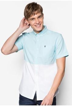 Cut & Sew Short Sleeves Shirt