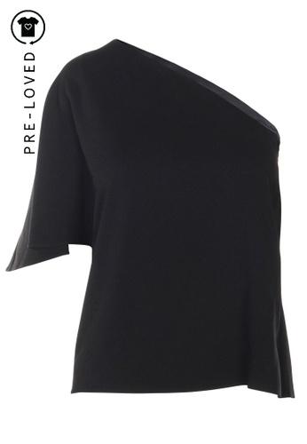 Tibi black Pre-Loved tibi One Shoulder Top 111C6AA44936C1GS_1