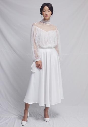 Clair de Lune white Chou Chou Blouse CL525AA0GSXMSG_1