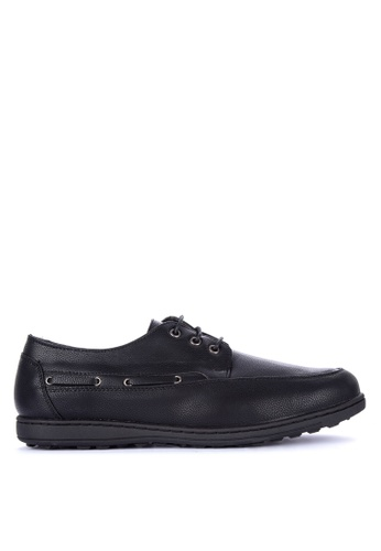 H2Ocean black Samuli Boat Shoes 8409BSHE7213ACGS_1