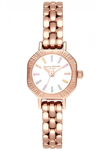 Olivia Burton gold Olivia Burton Rainbow PALE ROSE GOLD Women's Watch (OB16CC50) 28C29AC39DD941GS_1