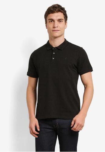Burton Menswear London green Khaki Jaspe Polo Shirt BU964AA0S2BFMY_1