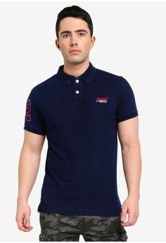 71b417ca9d1c Superdry navy Classic Pique Polo Shirt 02378AA515CC81GS 1
