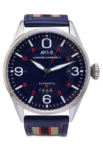 Haesprit 鞋wker Harrier II 皮革腕錶, 錶類, 飾品配件