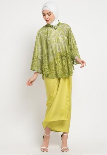 LUIRE by Raden Sirait green and multi Bdc-Afasia B362DAA5A1D89CGS_1