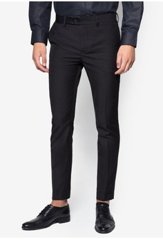 Skinny-Fit Formal Trousers