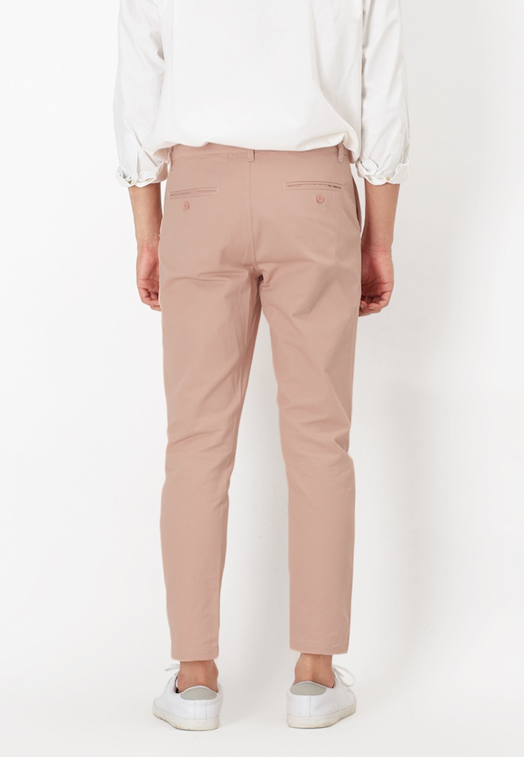 for Peach Chinos in A Pale Peach Arcade Fit Perry Pale Slim wPqA0P6g