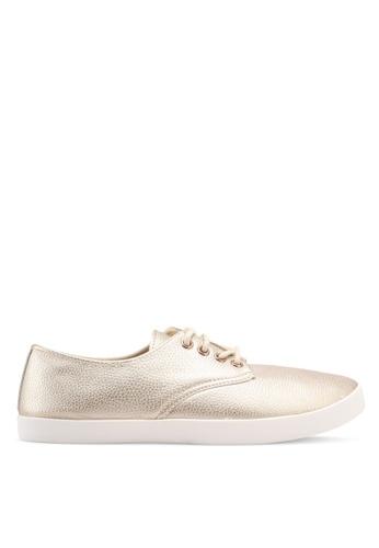 Rubi gold Celeste Lace Up Hybrid Sneakers 48E72SHA753B85GS_1