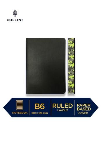 Collins grey Collins Edge Camo  ─  Notebook B6 Ruled Dark Grey 69CD7HL3142BAAGS_1