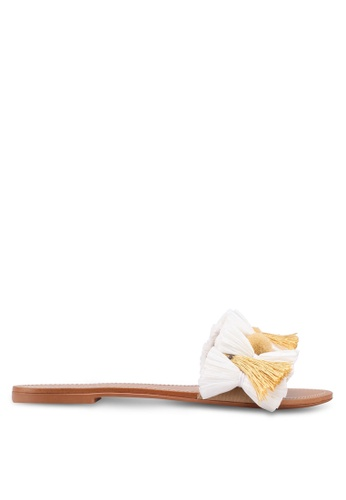 Mango white Slip On Sandals 0967CSH3133898GS_1