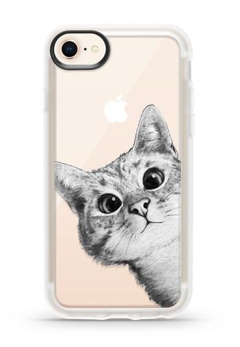 competitive price 55990 129ca Classic Grip Case for iPhone 6/6s/7/8 - Peekaboo Cat