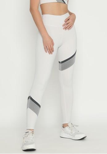 Corenation Active white Warren Legging Premium - White / grey / Black 4D869AA6C79DBDGS_1