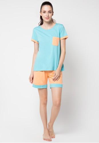 PUPPY orange Kortnie Sleepwear PU643AA03JLKID_1