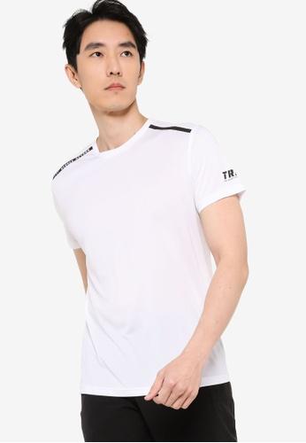 361° white Cross Training Short Sleeve T-shirt 8AE13AACB88892GS_1