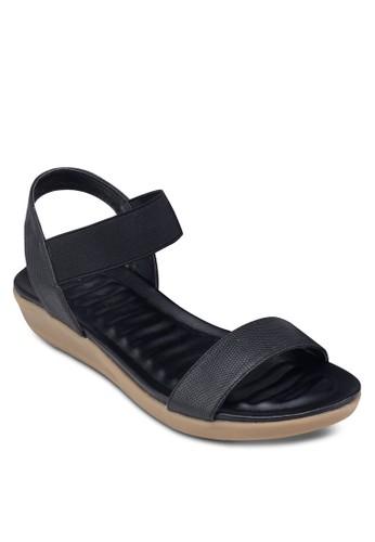 彈性繞踝帶涼鞋, zalora 台灣門市女鞋, 鞋