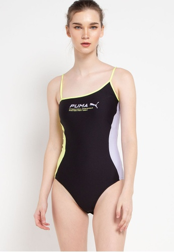 PUMA black Puma Sportstyle Prime Evide Sleeveless Bodysuit 79430AAC8FE42FGS_1
