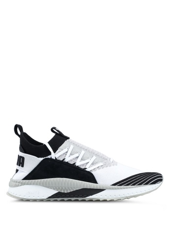 Puma black and grey and white Tsugi Shinsei Odyssey Shoes PU549SH0SWERMY_1