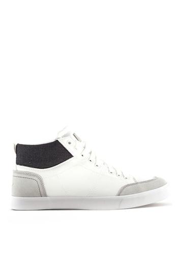 World Balance white Carsten MS Sneakers 3C65BSHD1006EBGS_1