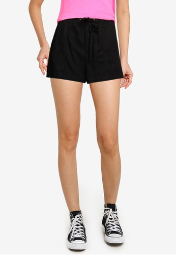 Gap black V-Pull On Utility Shorts D0DCAAA0D74F6AGS_1