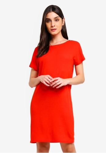 JACQUELINE DE YONG red Camilla Dress 56A32AA07DFD53GS_1