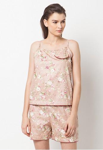 Madeleine's Jillie Brown Set Pajamas