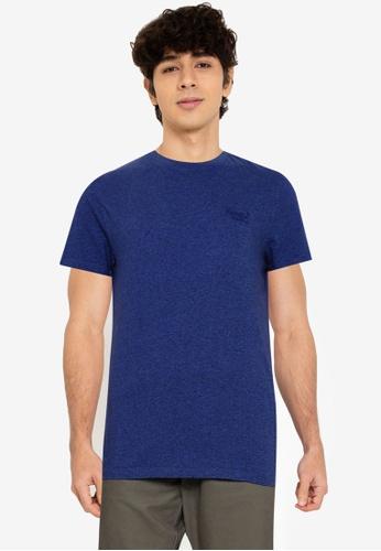 Superdry 藍色 Vintage Logo 刺繡T-襯衫 - Original & Vintage 80ACAAAAE22FEFGS_1