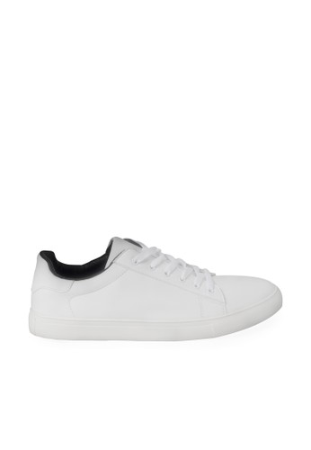 Minarno white White Austin Low Top Sneakers 0412ASHB733198GS_1