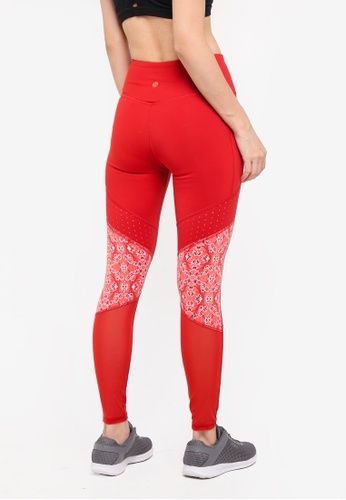 Buy Cotton On Body Tempo Mesh Paneled Tights Online ...