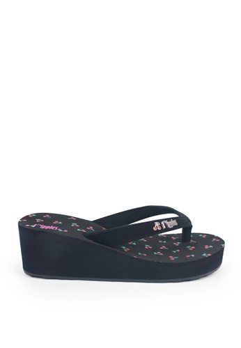 Ripples black Cherries Wedges RI425SH62TTPSG_1
