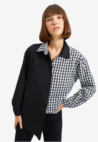 Trendyol black Black Shirt 6A1ECAA1E8B91AGS_1