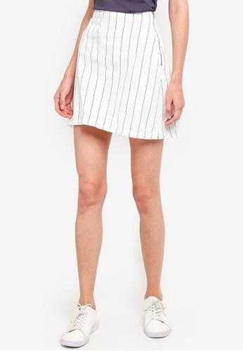 Cotton On white Denim Aline Skirt 09167AAD77D352GS_1