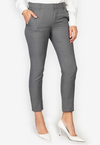 Zeb & Beileag grey Ivey Formal Slim Trousers A49B0AAACBD768GS_1