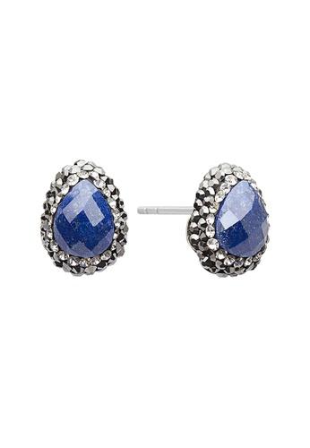 Fervor Montreal blue Fervor Montreal-Druzy Earrings Pear 64F13ACE3C60E4GS_1
