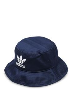 7625ef59 adidas navy adidas originals trefoil bucket hat 3ADF4AC504B861GS_1